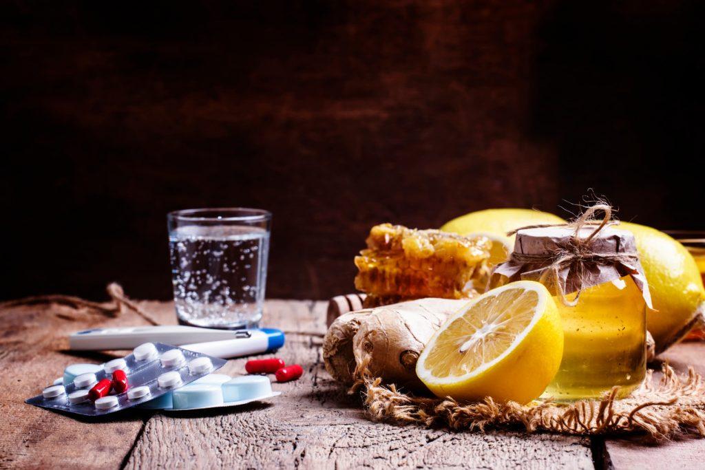 produkty na przeziębienie